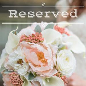 Reserved wedding order