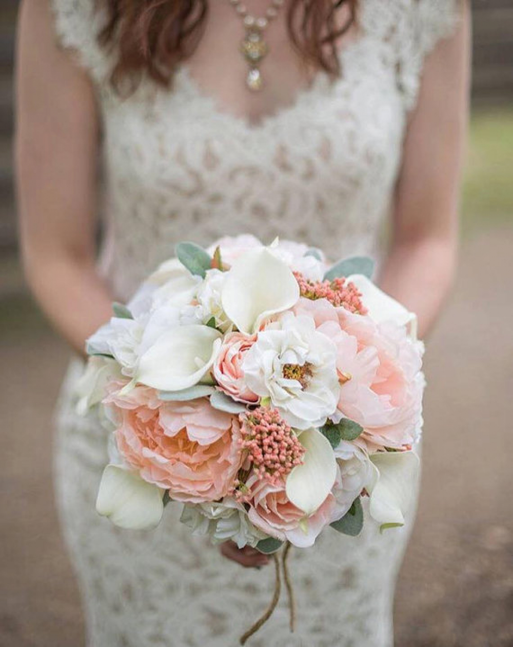 cream wedding bouquets peony wedding bouquet coral and bridal bouquet 3175