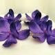 Wedding hair accessories Purple orchid bridal hair pins