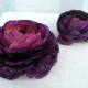 Wedding hair accessories Plum purple ranunculus hair pins