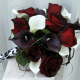 Rose calla lily Wedding bouquet