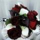 Rose calla lily Wedding bouquet